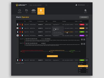 Complex UI web dashboard responsive bootstrap website html webapp saas app photoshop design ux ui