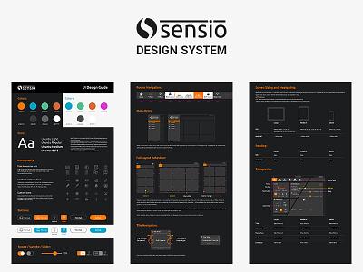 Advanced design system responsive web dashboard bootstrap website webapp html marvelapp invision sketch saas app photoshop design ux ui design guideline design guide design system