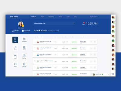 Intranet Dashboard app ui saas webapp ux dashboard intranet