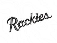 Colorado Rockies Brand Recharge Logo Set