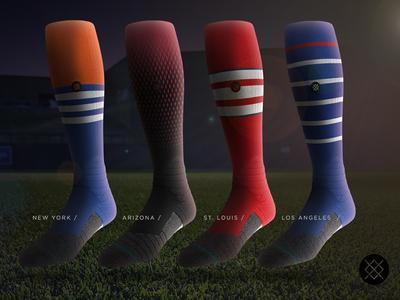 MLB Team Socks