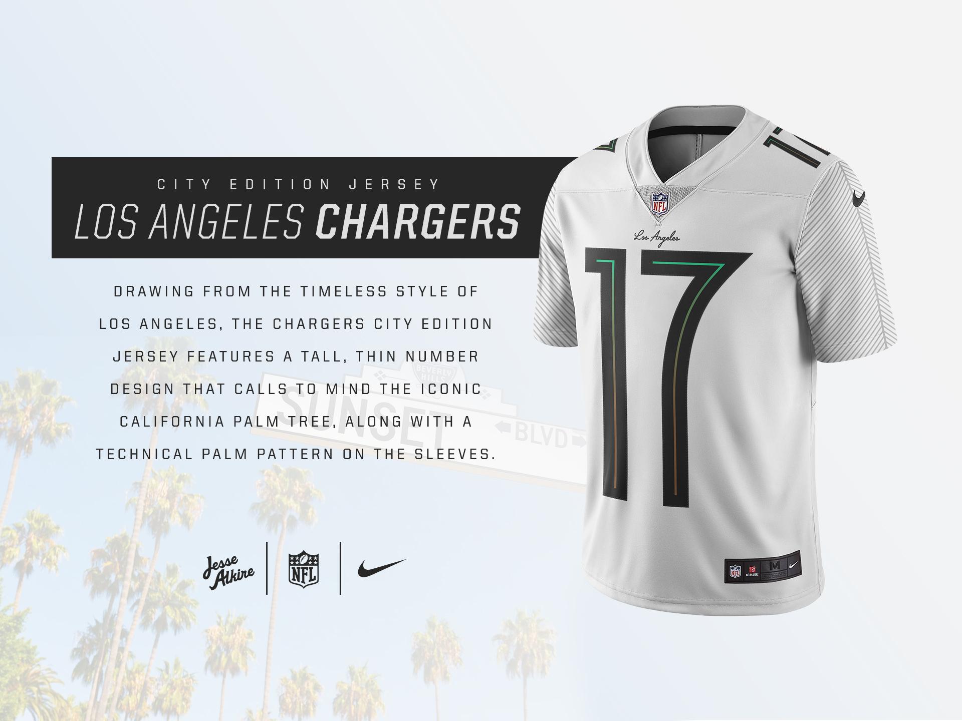 la chargers shirt