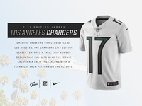NFL City Edition jersey - LA Chargers