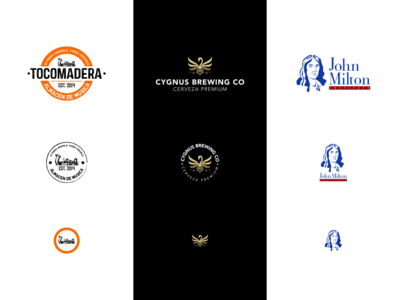 Responsive Logo Design social media corporate institute beer wood responsive design logo argentina