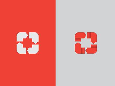 Continuous Arrows | Recycle Mark vector icon design logo mark