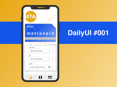 Metrocard Subscription designchallenge design