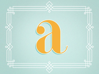 Letter a 1