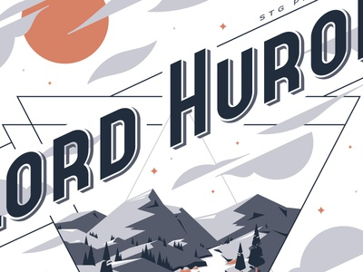 Lord Huron Concert Poster