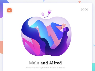 Relationship: Malu and Alfred