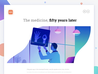50 years of medicine