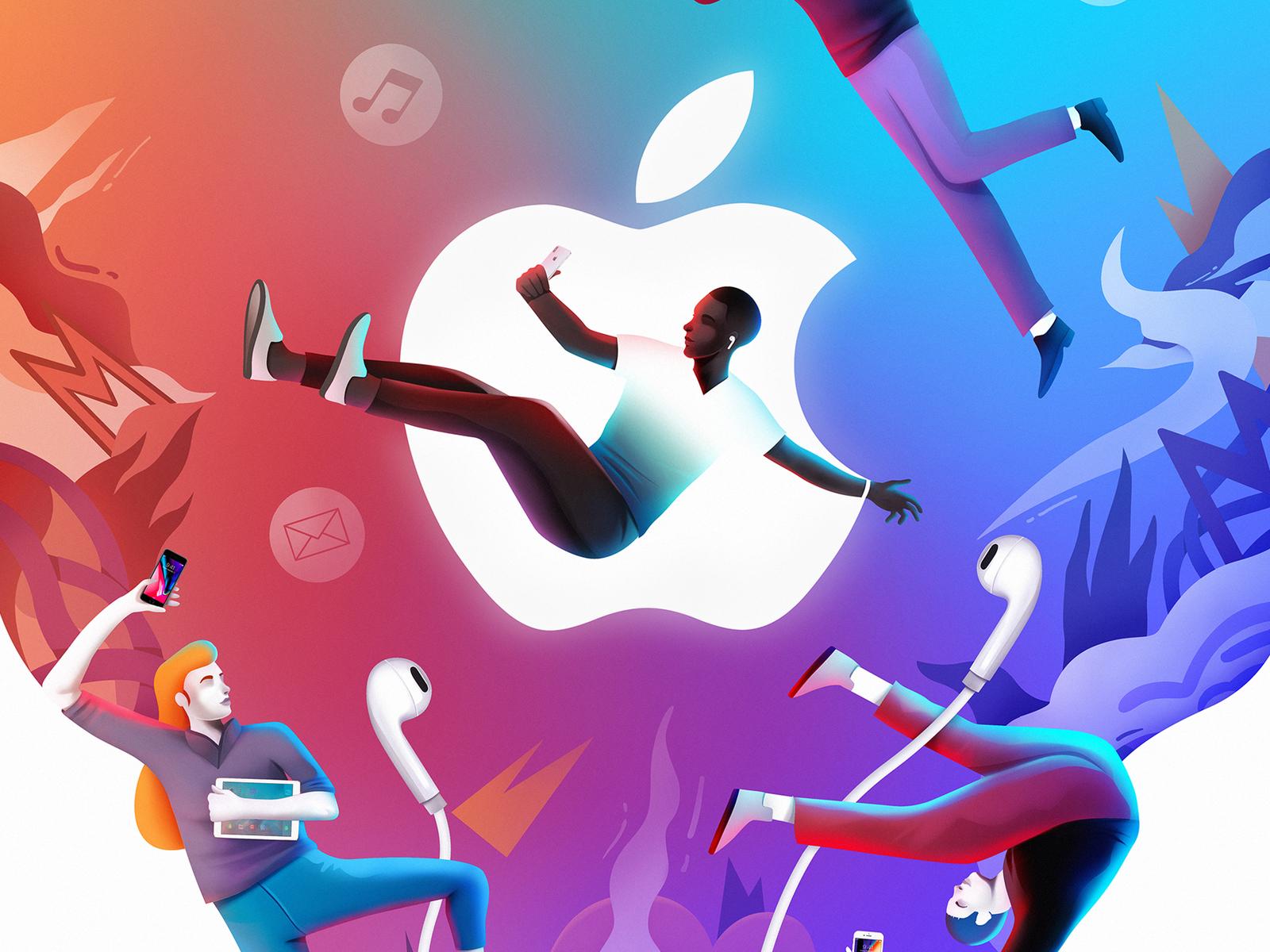 Estadão - brand illustration I brand apple design team apple character interface illustration design ux ui