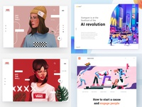 Top 4 Shots -Dribbble Review 2018