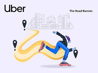 Uber – Users Review 2018 | 05 branding minimalism uber design uber app character interface web illustration design ux ui
