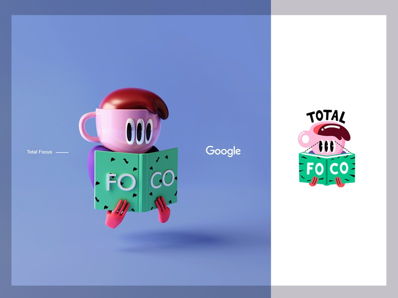 Total Focus | Google Partners print mobile app sticker google branding webdesign character app interface web illustration design ux ui