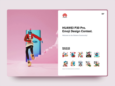 Huawei | KOTW Sticker Pack 3D version