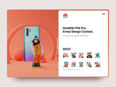 Huawei | Sticker pack | Kings of the Weekend II
