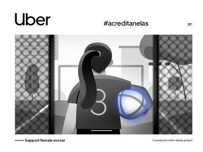 Uber   #acreditanelas    motion design