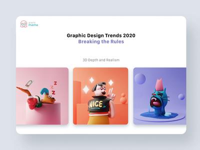 3d Design Trend 2020