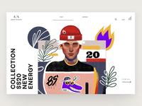 Armani Exchange Illustration | 01