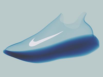 Cinderella cinderella blue sneaker art sneakerhead sneakers nike air max nike air nike product design shoe design shoe ui ux vector design blender 3d