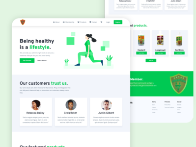 HealerTeam Website Redesign
