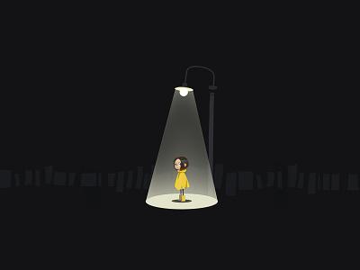Playground_prologue dark noire streetlamp
