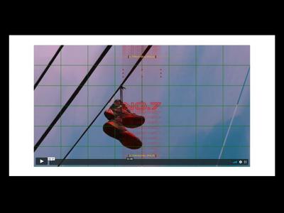 New Portfolio directing film type video movement design black branding illustration motion red music glitch