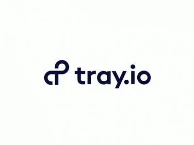 Tray.io Bumper automation type color animation design focuslab tray motion