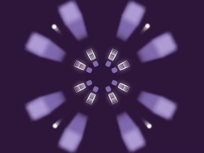 Galvanize Motion galvanize motion design type logo purple branding color focus lab bumper