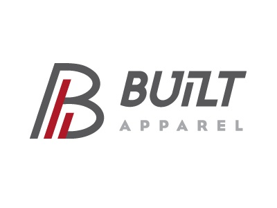 Built Apparel vector art logo identity branding graphic design typography type design
