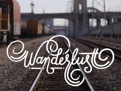 Wanderlust sketch sketching drawing doodling art travel type typography handlettering lettering design