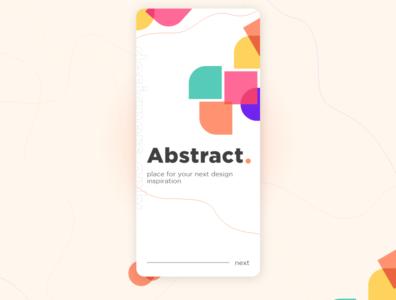 Minimalism 2020 trend homepage design uxdesign branding uiux concept app uidesign minimal app design