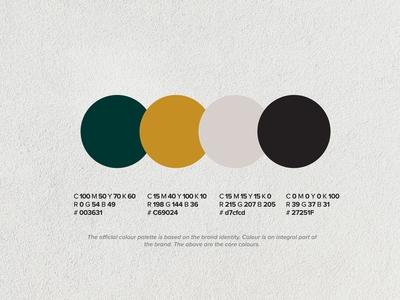 Welcome Boutique Hotel - Color Palette