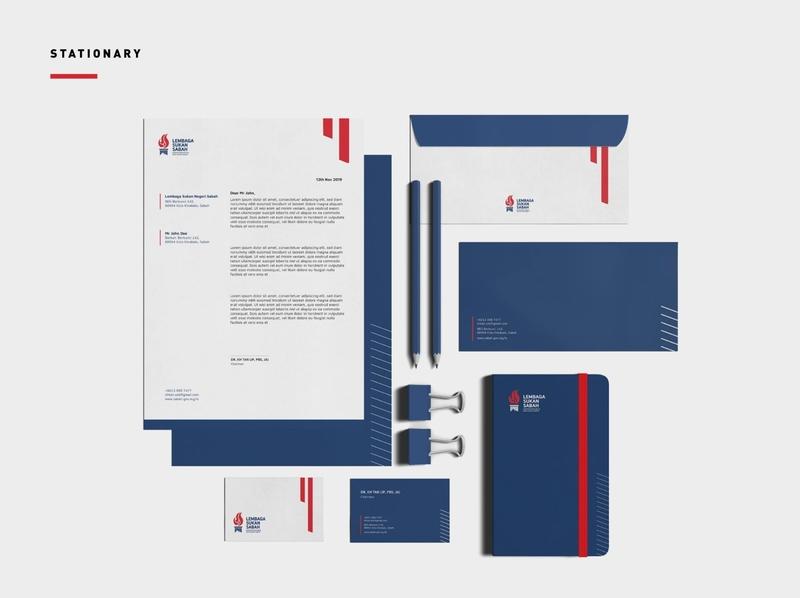 Lembaga Sukan Sabah Rebranding sports logo sports stationary design stationary brand identity logodesign visual identity art direction logo identity design brand branding brand design design