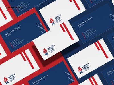 Lembaga Sukan Sabah Rebranding businesscard sports logo sports namecard brand identity logodesign visual identity art direction logo identity design brand branding brand design design
