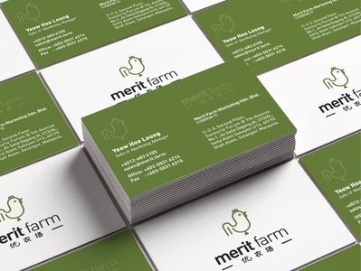 Merit Card - Business Card graphicdesign marketing farm brand identity logodesign visual identity art direction logo identity design brand branding brand design design