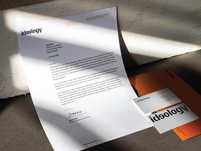 Ideology Design Studio Relaunch graphic design logodesign logo brand identity branding brand visual identity identity design art direction brand design design