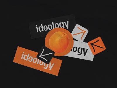 Ideology Design Studio Relaunch graphicdesign logodesign logo brand identity branding brand visual identity identity design art direction brand design design