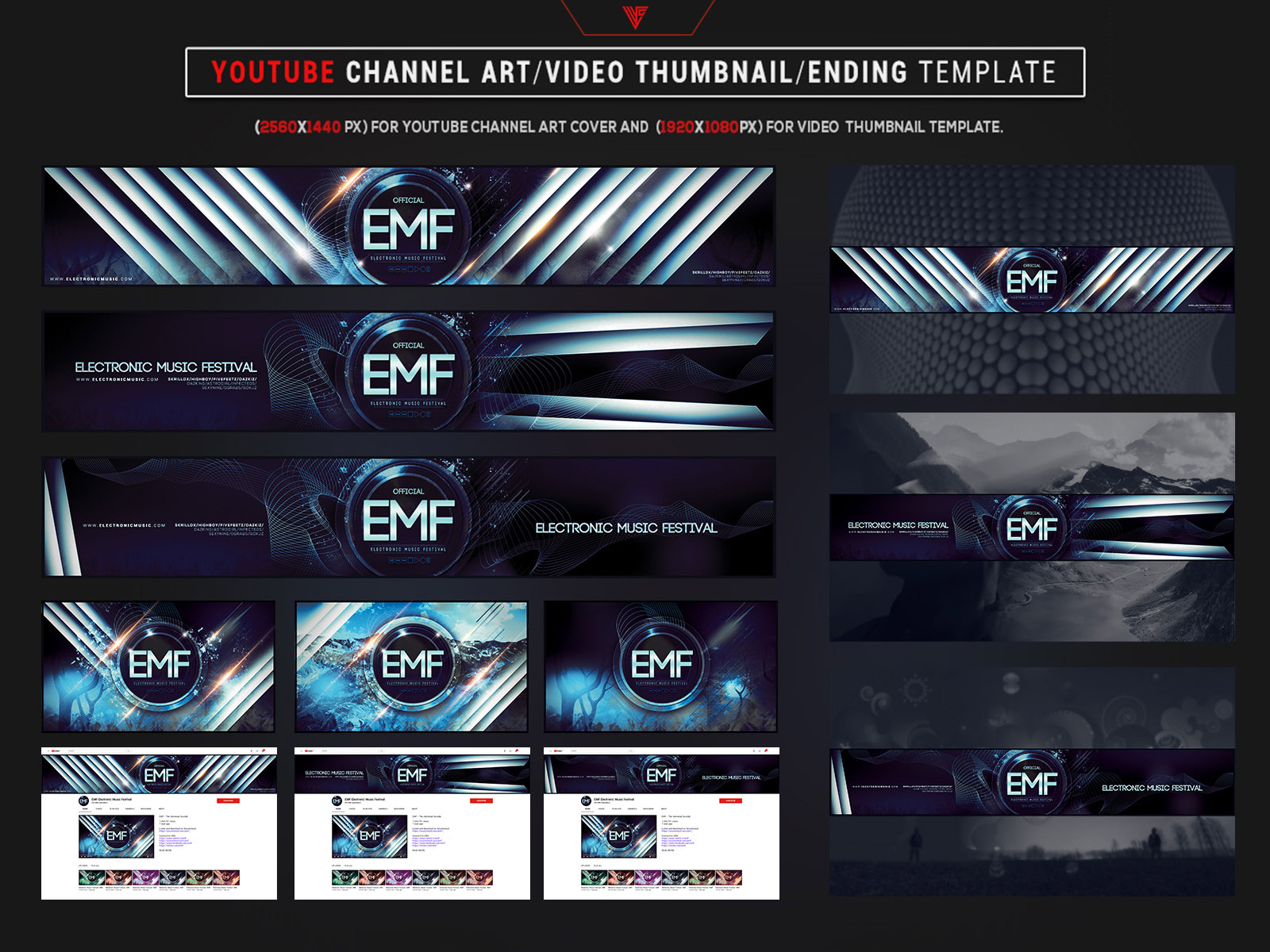 Photoshop Channel Art Template from cdn.dribbble.com