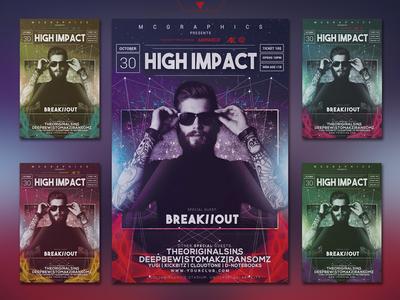 High Impact Flyer/Instagram Template
