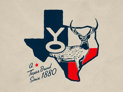 YO Ranch Merch Design hunting vector deer axis hunting ranch texas austin logo identity branding