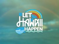 Let Hawaii Happen Campaign Logo