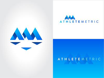 AthleteMetric Branding sports logo nonprofit brand identity branding