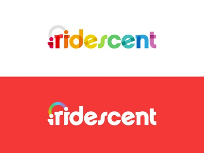 Iridescent Rebrand learning edtech logo nonprofit brand identity branding