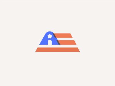 America Innovates edtech logo nonprofit brand identity branding