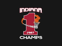 Indiana 1987 Champs