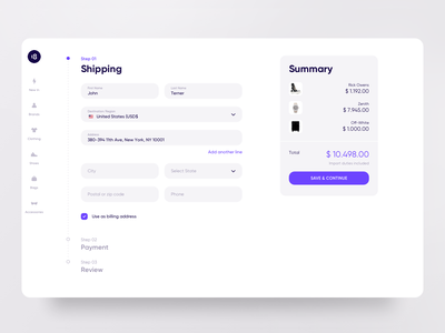 Marketplace UIKIT payment steps ui ux order delivery shipping ui8net ui8 summary marketplace market shopping shop interface uikit clean clean ui minimalism 18design