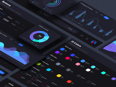 ATOM V.2 Tools for Sketch & Figma crypt analysis charts analytics usability ux crypto crm saas dashboard kit uikit interface components uidesign clean ui clean ui minimalism 18design