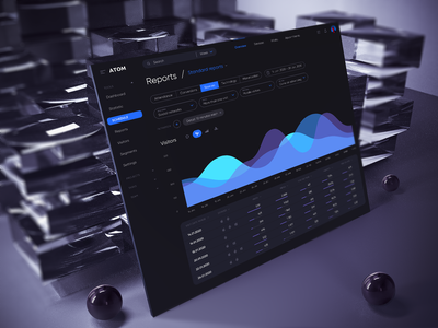 ATOM V.2 Tools for Sketch & Figma product design lims crm chart analytics saas dashboard visual design interface usability ux design system atom uikit minimalism uidesign clean ui clean ui 18design