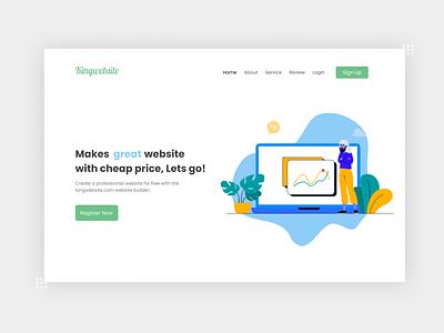 Website Builder Design ux adobexd uiux ui figma web design webdesign website concept website design website